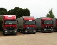 Sunkvežimių apklijavimas 190x150 Transporto priemonės