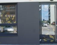 Vitrininių langų dizainas gamyba klijavimas s reklama 190x150 Vitrinų apipavidalinimas